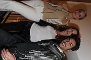 CAROLE RADZIWILL; SONYA MORGAN; YURI BASS, Jonathan Adler Store opening. Sloane St. London. 16 November 2011. <br /> <br />  , -DO NOT ARCHIVE-© Copyright Photograph by Dafydd Jones. 248 Clapham Rd. London SW9 0PZ. Tel 0207 820 0771. www.dafjones.com.
