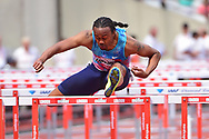 Aries Merritt (USA) wins the Mens 110m Hurdles finals during the Muller Anniversary Games at the London Stadium, London, England on 9 July 2017. Photo by Jon Bromley.