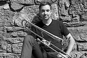 Promotional Endorsement Photo for Shilke Trombone artist Oscar Utterstrom