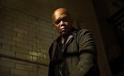 "Samuel L. Jackson as ""Darius Kincaid"" in THE HITMAN'S BODYGUARD. Photo by Jack English."