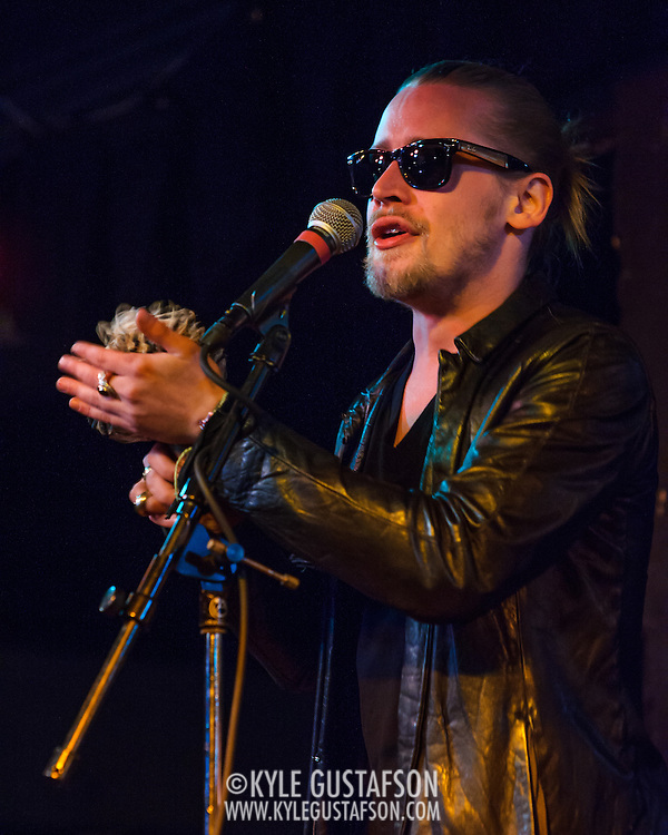 WASHINGTON, DC - March 21st, 2014 - Macaulay Culkin of the Pizza Underground performs at the Black Cat in Washington, D.C. (Photo by Kyle Gustafson / For The Washington Post)