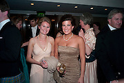 CLEMENTINE TRAVIR; ALEXANDRA MEZULANIK, The Royal Caledonian Ball 2010. Grosvenor House. Park Lane. London. 30 April 2010 *** Local Caption *** -DO NOT ARCHIVE-© Copyright Photograph by Dafydd Jones. 248 Clapham Rd. London SW9 0PZ. Tel 0207 820 0771. www.dafjones.com.<br /> CLEMENTINE TRAVIR; ALEXANDRA MEZULANIK, The Royal Caledonian Ball 2010. Grosvenor House. Park Lane. London. 30 April 2010