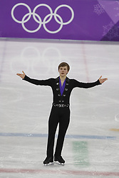 February 17, 2018 - Pyeongchang, KOREA - Mikhail Kolyada of Olympic Athlete from Russia competing in the men's figure skating free skate program during the Pyeongchang 2018 Olympic Winter Games at Gangneung Ice Arena. (Credit Image: © David McIntyre via ZUMA Wire)