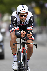 June 7, 2017 - Bourgoin Jallieu, France - BOURGOIN-JALLIEU, FRANCE - JUNE 7 : DE BACKER Bert (BEL) Rider of Team Sunweb during stage 4 of the 69th edition of the Criterium du Dauphine Libere cycling race, an individual time trail of 23,5 kms between La Tour-du-Pin and Bourgoin-Jallieu on June 07, 2017 in Bourgoin-Jallieu, France, 7/06/2017 (Credit Image: © Panoramic via ZUMA Press)