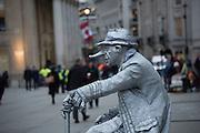 Entertainer, Trafalgar Sq. London. 3 December 2015