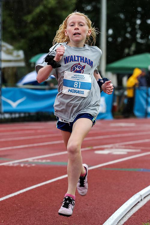 One Mile Run age 9-10, Georgea Fisher-Smith, <br /> 2019 Adrian Martinez Track Classic