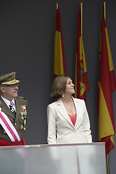 Maria Dolores de Cospedal attended the Armed Forces Day Homage on May 26, 2018 in Logrono, La Rioja, Spain. Photo by Archie Andrews/ABACAPRESS.COM