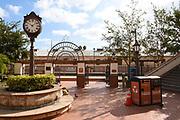 Santa Ana Train Station Commuter Rail System