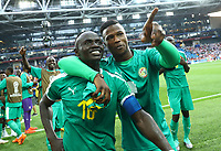 Sadio Mane (Senegal) and Keita Balde (Senegal) <br /> Moscow 19-06-2018 Football FIFA World Cup Russia  2018 <br /> Poland - Senegal / Polonia - Senegal <br /> Foto Matteo Ciambelli/Insidefoto