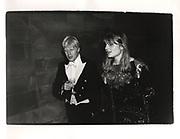 Boris Johnson and Allegra Mostyn-Owen. Christchurch Commen Ball. Oxford. 1987