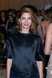 Sofia Coppola walking the red carpet at The Metropolitan Museum of Art Costume Institute Benefit celebrating the opening of Heavenly Bodies : Fashion and the Catholic Imagination held at The Metropolitan Museum of Art  in New York, NY, on May 7, 2018. (Photo by Anthony Behar/Sipa USA)