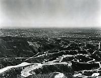 1925 Aerial photo of Hollywoodland