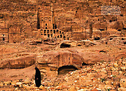 National Geographic Cover story (Spain and Portugal), on Petra, Jordan