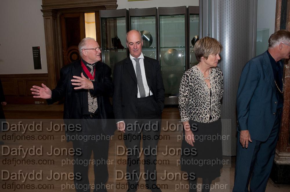PAUL HUXLEY; CHARLES SAUMERAZ-SMITH; PRESIDENT OF THE ROYAL ACADEMY SIR NICHOLAS GRIMSHAW , Wild Thing: Epstein, Gaudier-Brzeska, Gill. Royal Academy. Piccadilly. London. 20 October 2009.