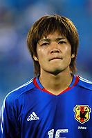 "12/08/04 - THESSALONIKI - GREECE -  - JAPAN OLYMPIC MENS FOOTBALL TEAM -  <br />First match Group B - JAPAN () Vs. PARAGUAY -<br />At the THESSALONIKI ""KAFTATZOGLIO STADIUM"".<br />Min.= '   Japan player N*16 OKUBO Yoshito<br />© Gabriel Piko / Piko-Press"