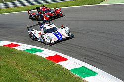 The amazing overtake at Parabolica turn in Monza of LMP2 car of DRAGONSPEED (drivers Henrik HEDMAN, Ben HANLEY and Nicolas LAPIERRE) on the PANIS-BARTHEZ COMPETITION LMP2 #23 during the last hour of ELMS 4 hours 2018.
