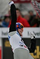 Anders Jacobsen (NOR) jubelt. © Andre Albrecht/EQ Images