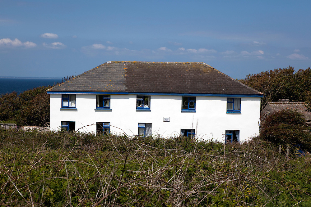 The House of the Prince of the Saltee Islands, on Great Saltee off the coast of Co. Wexford, Ireland. In December 1943 the Saltees were purchased by Michael Neale, who styled himself Prince Michael the First, and entered into a protracted dispute with the Irish authorities over his right to govern and taxes. After his death in January 1998 the islands are were passed on to his five sons Michael - now the prince, John Manfred, Paul, Richard, and his daughter Anne. The island is open to free daily visits for anyone who wants to visit and experience its incredible wildlife.
