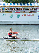Henley-On-Thames, Berkshire, UK.,Saturday, 14.08.21,    Heat of the Princes Royal Challenge Cup, University College, Cork, Ireland, Lydia HEAPHY, 2021 Henley Royal Regatta, Henley Reach, River Thames, Thames Valley,  [Mandatory Credit © Peter Spurrier/Intersport Images],