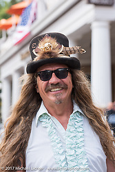 Bean're on Main Street in Deadwood during the annual Sturgis Black Hills Motorcycle Rally. Deadwood, SD, USA. Monday August 7, 2017.  Photography ©2017 Michael Lichter.