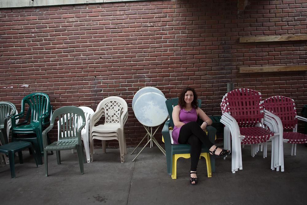 02 October 2014- Gina Keplinger is photographed in Lincoln, Nebraska for Omaha Magazine.