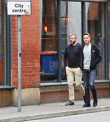 Ander Herrera is seen out and about in Manchester