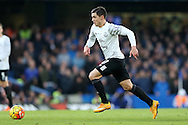 Muhamed Bezic of Everton in action. Barclays Premier league match, Chelsea v Everton at Stamford Bridge in London on Saturday 16th January 2016.<br /> pic by John Patrick Fletcher, Andrew Orchard sports photography.