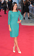 22-09-14: 'What We Did on Our Holiday' - <br /> World Premiere, Linzi Stoppard arrives<br /> ©Exclusivepix