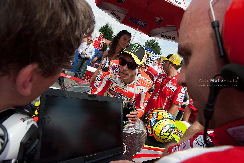 2011 MotoGP World Championship, Round 11, Brno, Czech Republic, 14 August 2011, Valentino Rossi