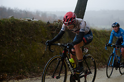 Clara Koppenburg at Strade Bianche - Elite Women 2018 - a 136 km road race on March 3, 2018, starting and finishing in Siena, Italy. (Photo by Sean Robinson/Velofocus.com)