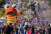The 125th Rose Parade's Showcase of Floats