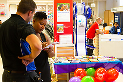 USDAW (Union of Shop, Distributive and Allied Workers) hold a Pride awareness event at Tesco in Cheapside, London. London, July 04 2018.