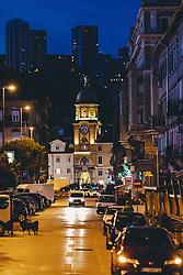 THEMENBILD - der Stadtturm Rijeka, aufgenommen am 14. August 2019 in Rijeka, Kroatien // the Citytower of Rijeka, Croatia on 2019/08/14. EXPA Pictures © 2019, PhotoCredit: EXPA/ JFK