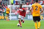 Kasey Palmer (45) of Bristol City during the The FA Cup 5th round match between Bristol City and Wolverhampton Wanderers at Ashton Gate, Bristol, England on 17 February 2019.