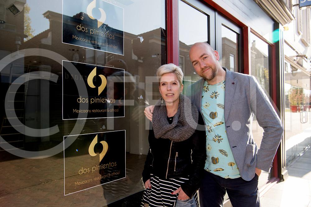 HARDENBERG - Mexicaans restarant.<br /> Foto: Zorfath Juurlnk en Dana Snijders beginnen een mexocaans restaurant.<br /> FFU PRESS AGENCY COPYRIGHT FRANK UIJLENBROEK