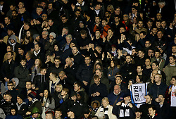 Derby County fans in the stand