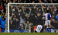 Photo: Daniel Hambury.<br />Tottenham Hotspur v Blackburn Rovers. The Barclays Premiership. 05/03/2006.<br />Tottenham's Mido scores to make it 3-2.