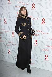 Monica Bellucci attends the 17th 'Diner De La Mode' as part of Paris Fashion Week on January 24, 2019 in Paris, France.