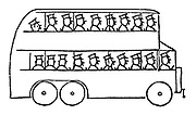 (A bus full of bus conductors)