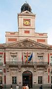 Casa de Correos, Puerta Del Sol, Madrid, Spain
