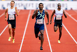 FredKerley of Usa in action on the 400 meter during FBK Games 2021 on 06 june 2021 in Hengelo.