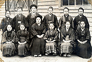 women only group photo Japan ca 1930s