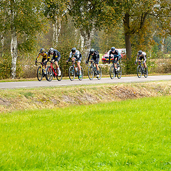 ZWOLLE (NED) CYCLING OCTOBER 16th <br /> 61e Ster van Zwolle: <br /> Peloton in de achtervolging