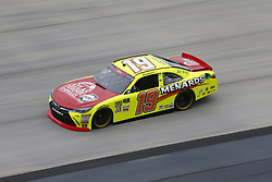October 5, 2018 - Dover, Delaware, United States of America - Brandon Jones (19) takes to the track to practice for the Bar Harbor 200 at Dover International Speedway in Dover, Delaware. (Credit Image: © Justin R. Noe Asp Inc/ASP via ZUMA Wire)