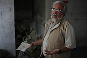 Alberto Fuentes, coordinating member of the National Police Archives, explains the current state of the project. On July 5, 2005, the historical archives of the now dissolved National Police were found in an abandoned arms depot in the outskirts of Guatemala City. The discovery of these millions of documents, which were allegedly lost after the 1996 Peace Accords, provide important evidence in the search for the thousands of people who were detained and subsequently disappeared by State security forces during the internal armed conflict (1960-1996). Guatemala City, Guatemala. August 25, 2010.