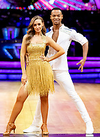 Catehrine Tyldesley & Johannes Radebe  during Strictly Come Dancing - The Live Tour at Arena Birmingham,King Edwards Road,Birmingham photo by Chris  Wayne