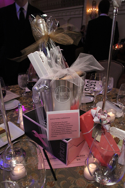 Susan G. Komen Puget Sound Grace Notes 2011 Auction and Gala at the Fairmont Olympic Hotel.