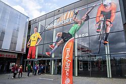 25-05-2019 NED: Golden League Netherlands - Croatia, Apeldoorn<br /> First match poule B: Dutch open Golden European League with 3-2 win over Croatia / Sporthall De Voorwaarts ready for the first match