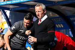 Charlton Athletic manager Lee Bowyer - Mandatory by-line: Robbie Stephenson/JMP - 13/05/2018 - FOOTBALL - Montgomery Waters Meadow - Shrewsbury, England - Shrewsbury Town v Charlton Athletic - Sky Bet League One Play-Off Semi Final