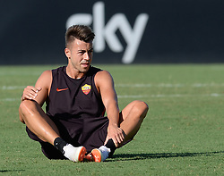 July 19, 2018 - Rome, Italy - Stephan El Shaarawy during training session open to the fans of A.S. Roma,  pre-season retreat at Stadio Tre Fontane on july 19, 2018 in Rome, Italy. (Credit Image: © Silvia Lore/NurPhoto via ZUMA Press)